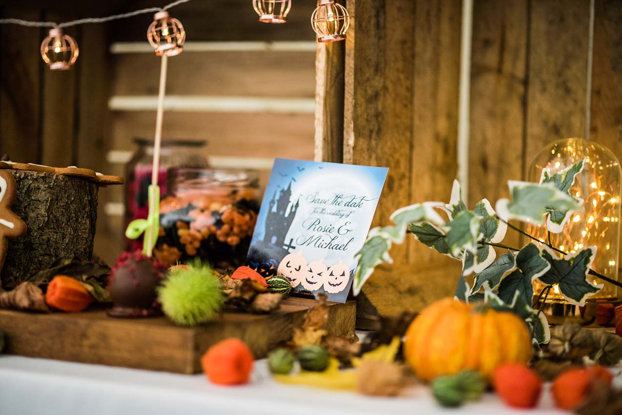 autumn wedding, halloween wedding, hayne house
