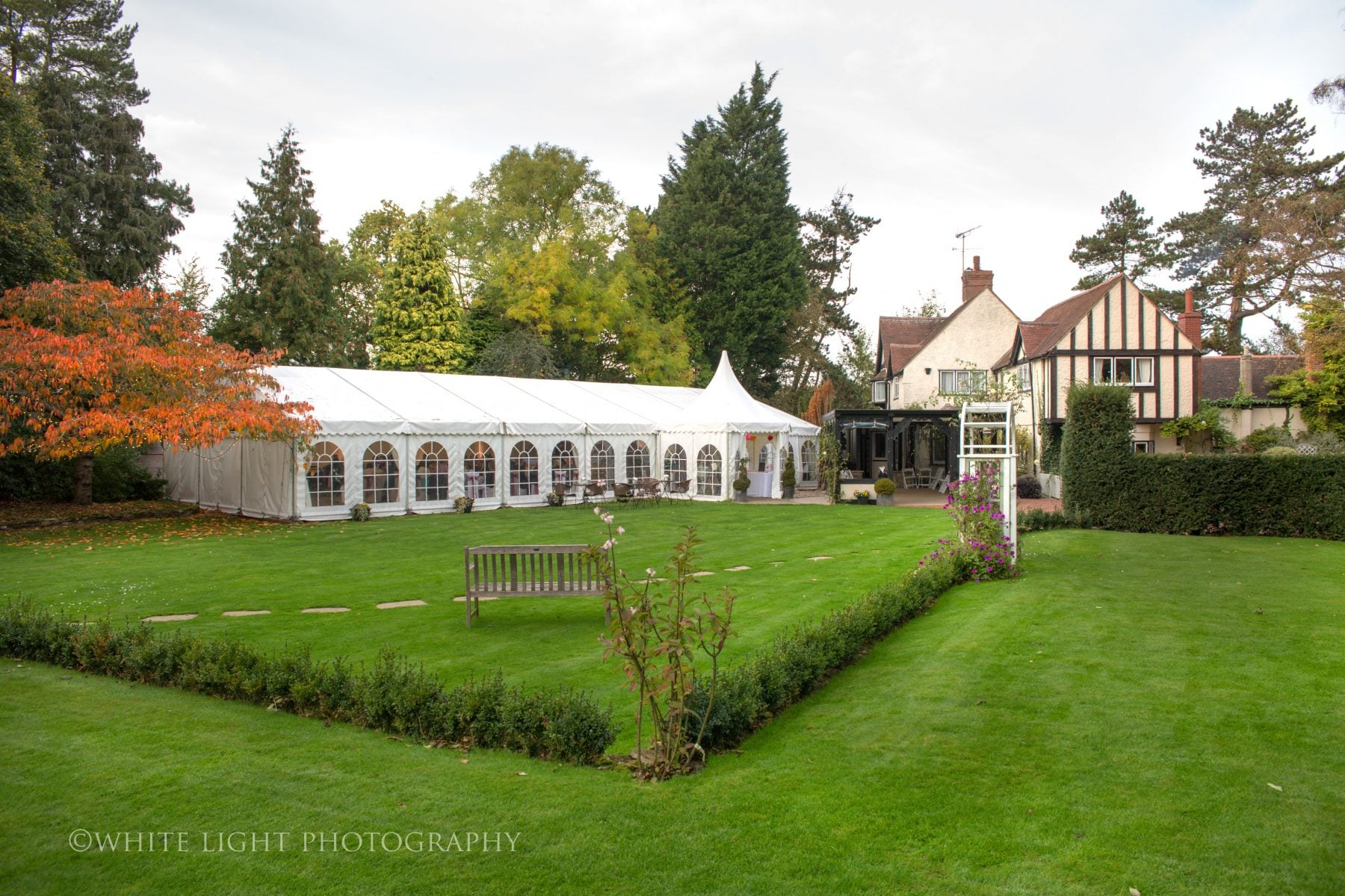 Transition from marquee to orangery