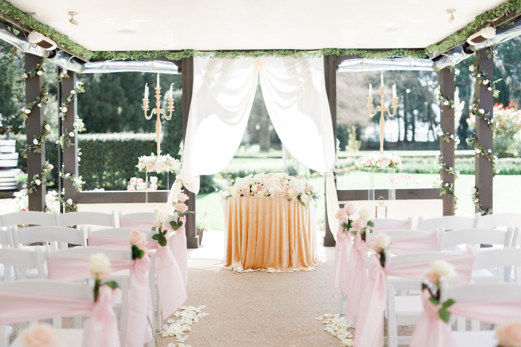 Al fresco weddings how to plan the perfect outdoor wedding ceremony